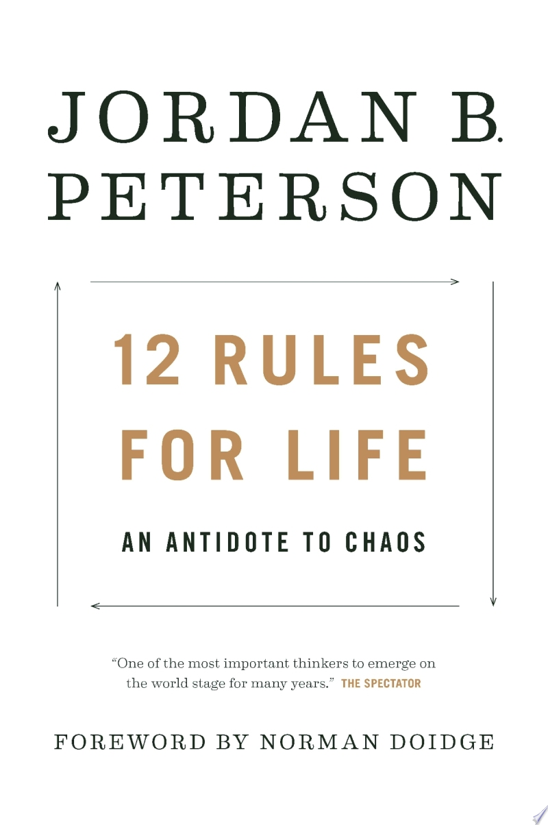"Image for ""12 Rules for Life"""