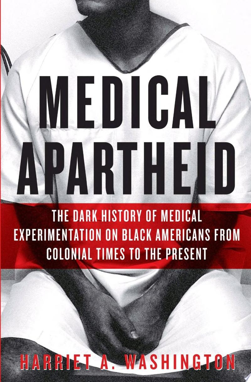 "Image for ""Medical Apartheid"""