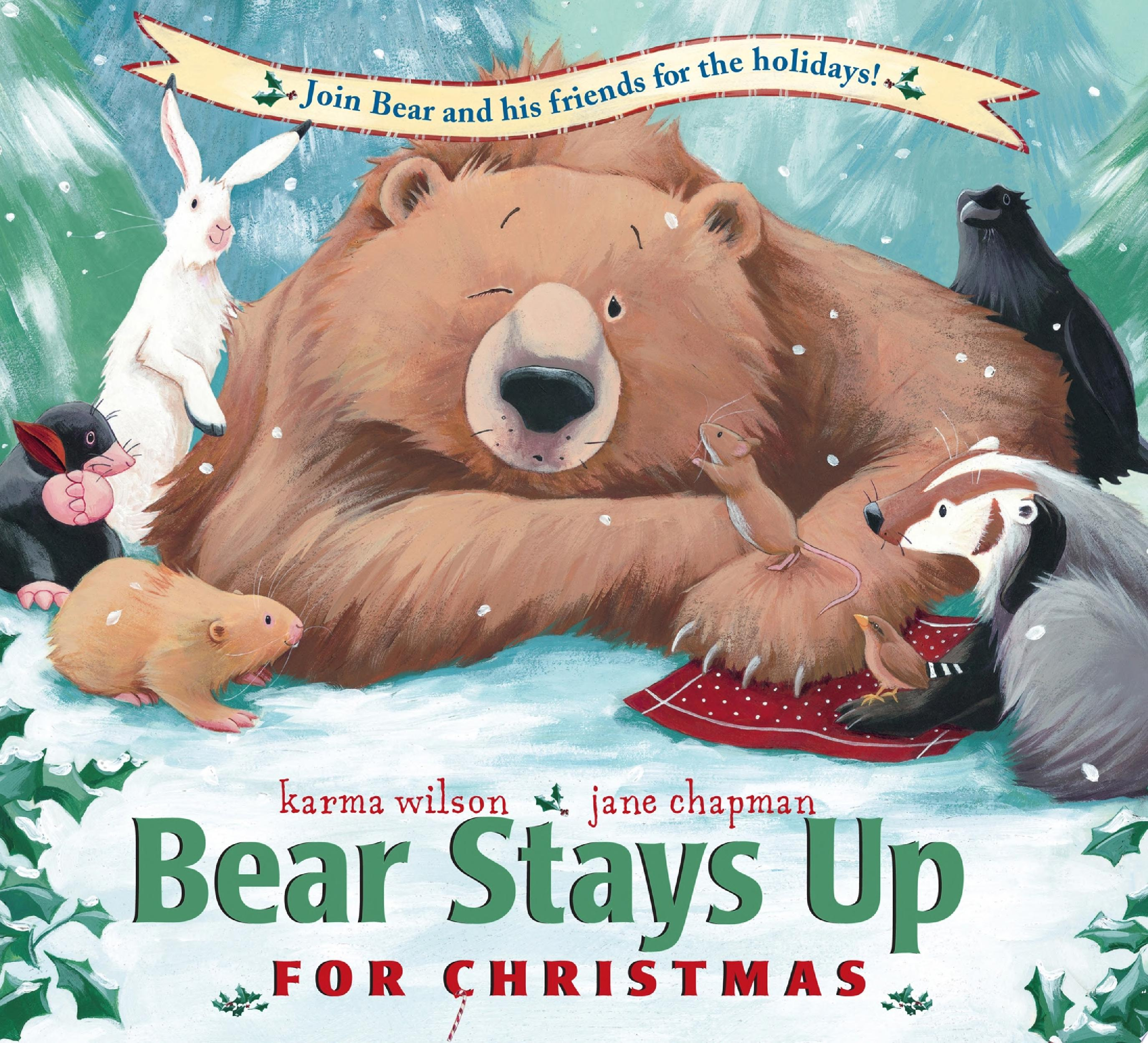 "Image for ""Bear Stays Up for Christmas"""