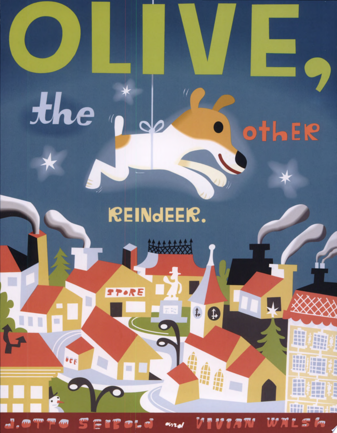 "Image for ""Olive, the Other Reindeer"""