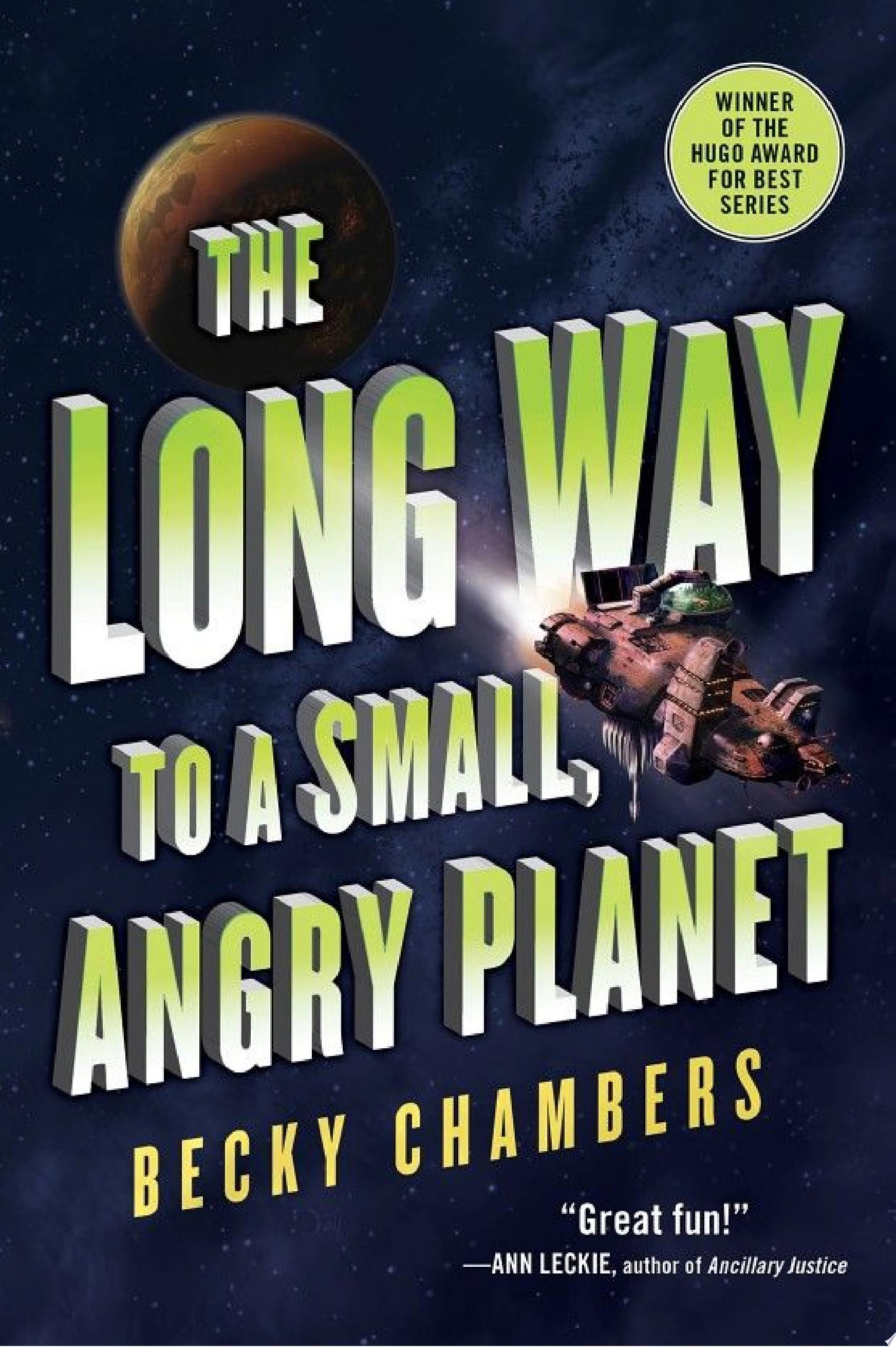 "Image for ""The Long Way to a Small, Angry Planet"""