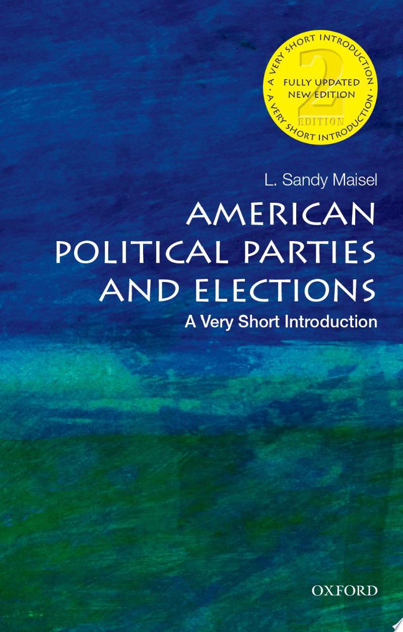 "Image for ""American Political Parties and Elections"""