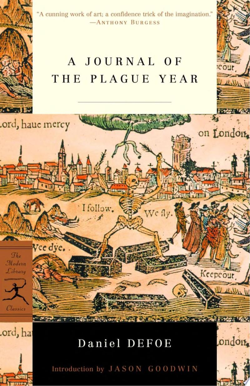 "Cover Image for ""A Journal of the Plague Year"""