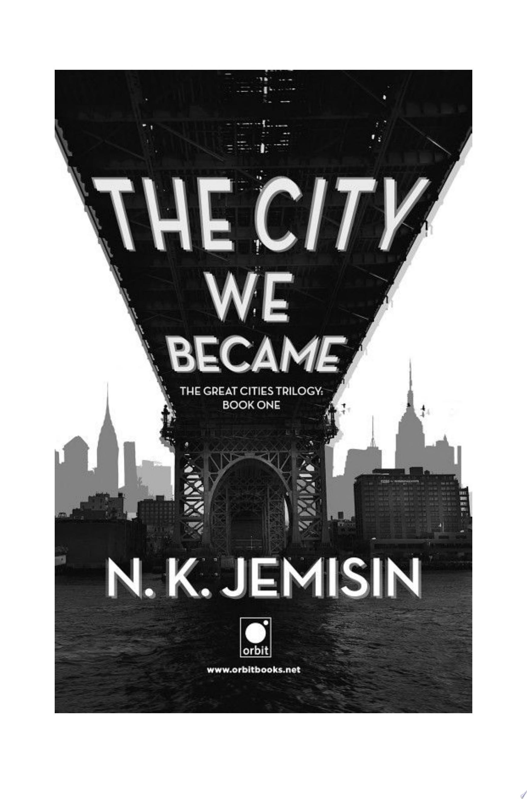 "Image for ""The City We Became"""