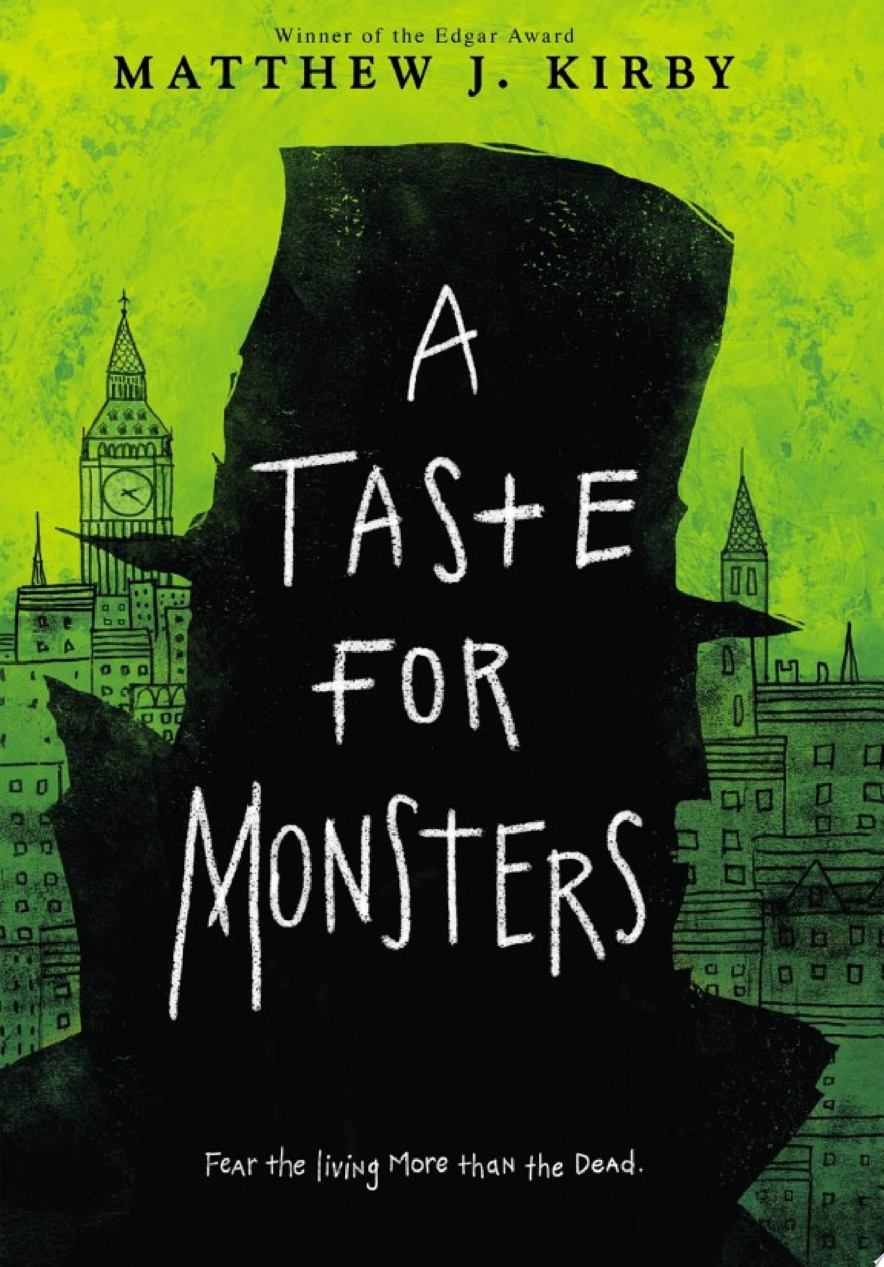 "Image for ""A Taste for Monsters"""