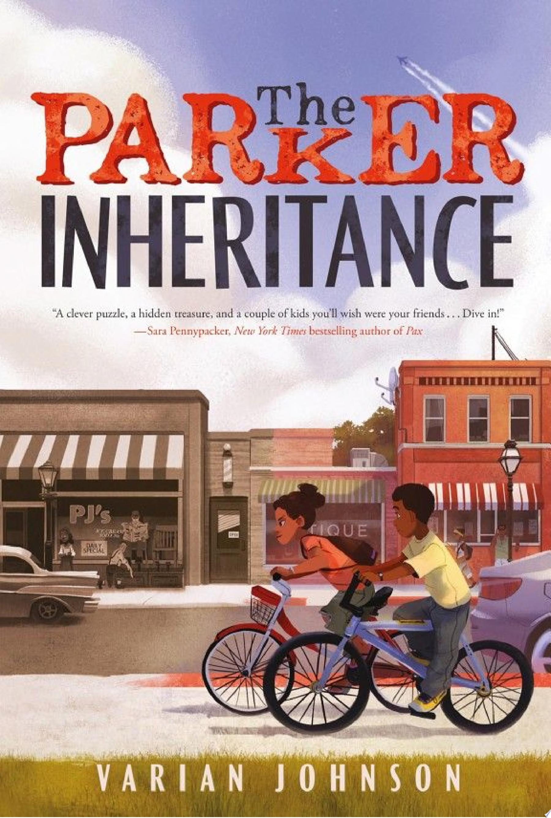 "Image for ""The Parker Inheritance"" by Varian Johnson"
