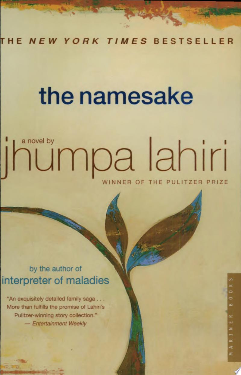 "Cover Image for ""The Namesake"""