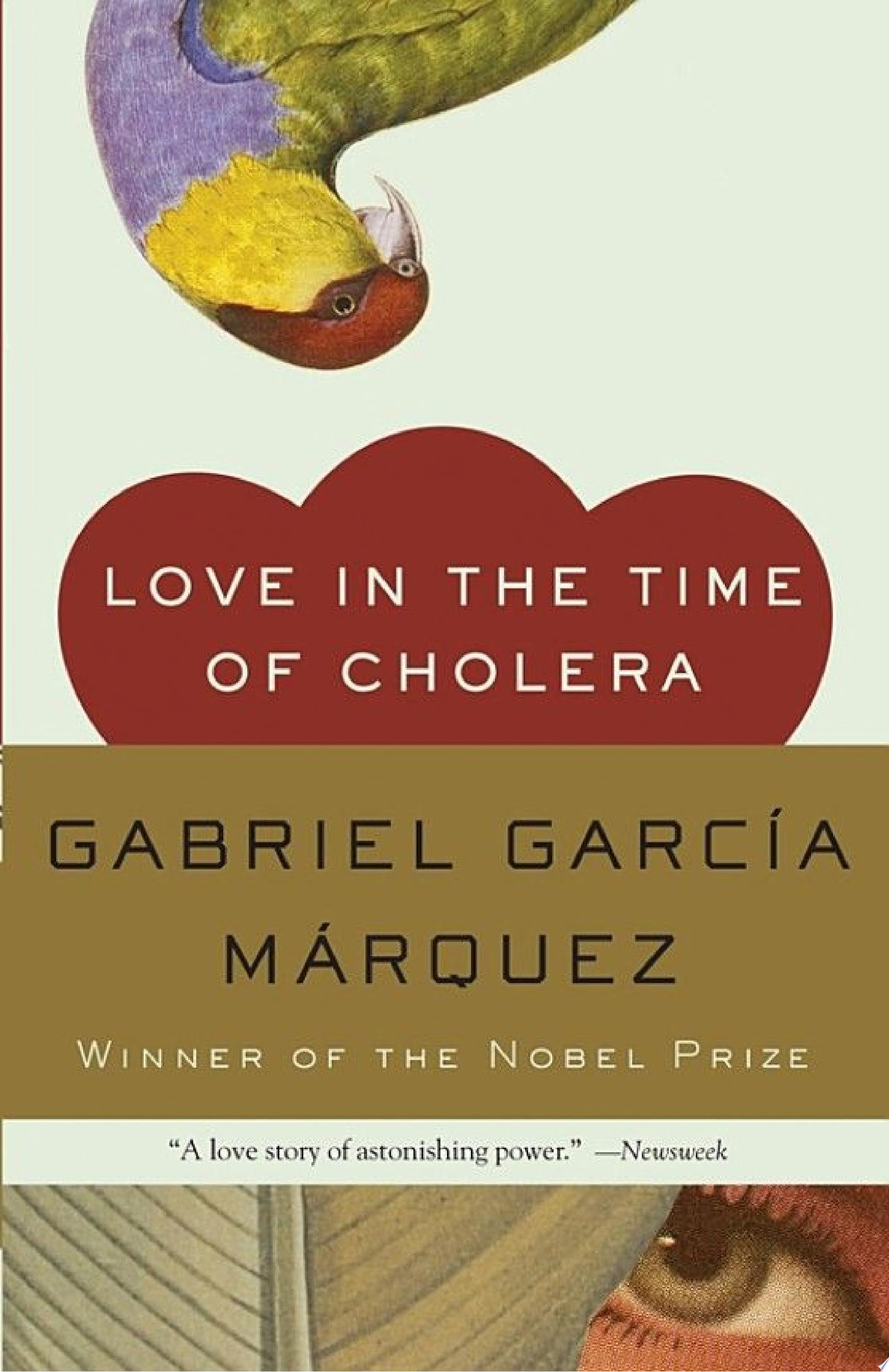 "Image for ""Love in the Time of Cholera"""