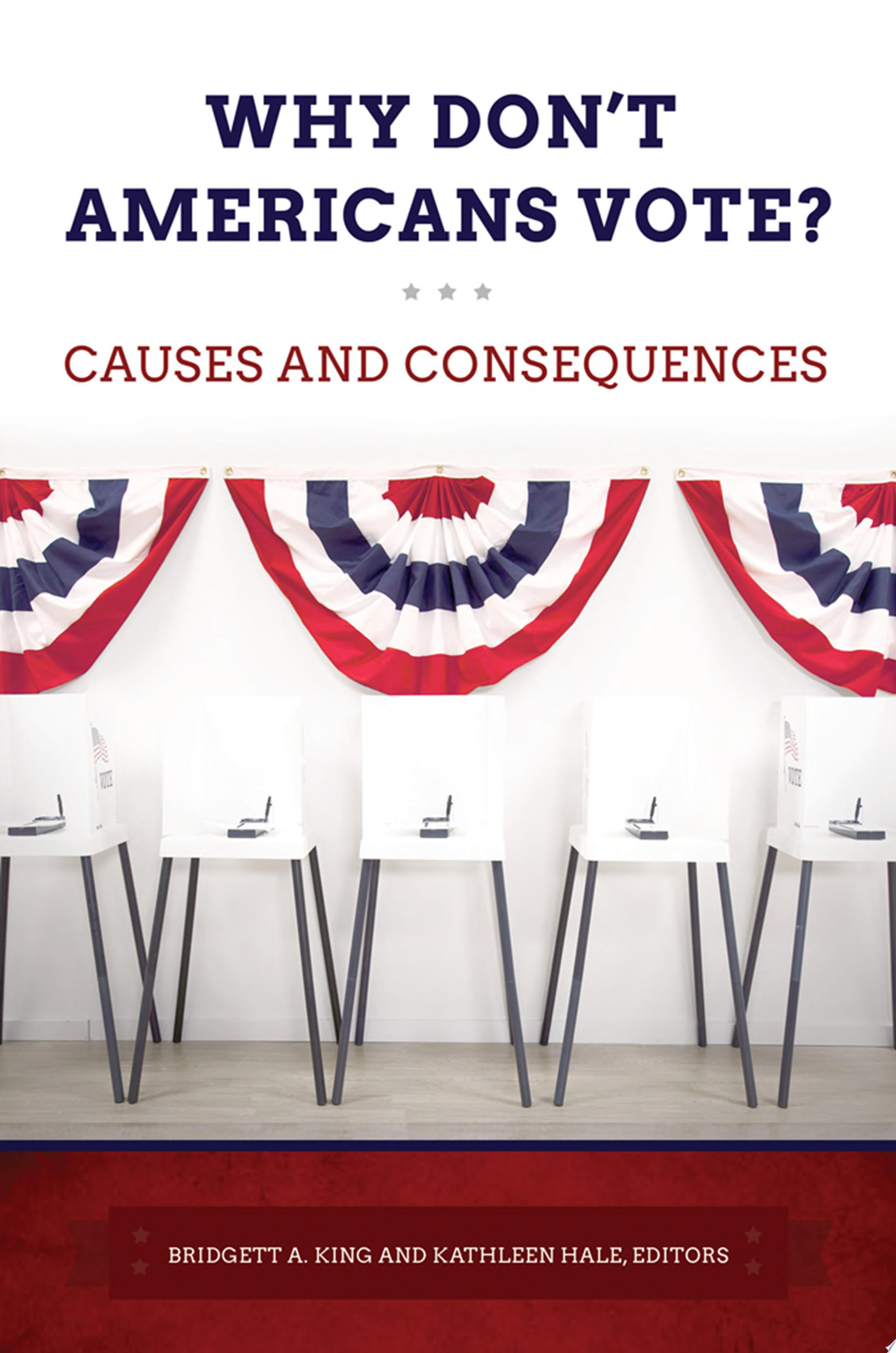 "Image for ""Why Don't Americans Vote? Causes and Consequences"""