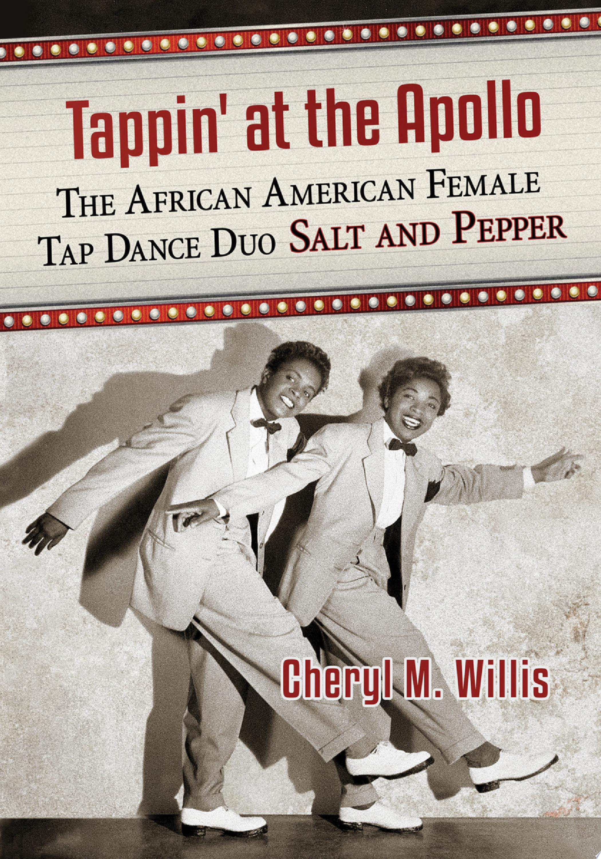 "Image for ""Tappin' at the Apollo"""