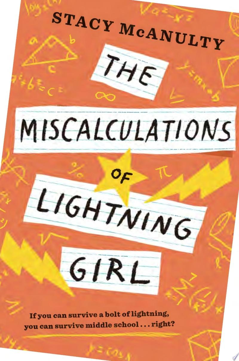 "Image for ""The Miscalculations of Lightning Girl"""