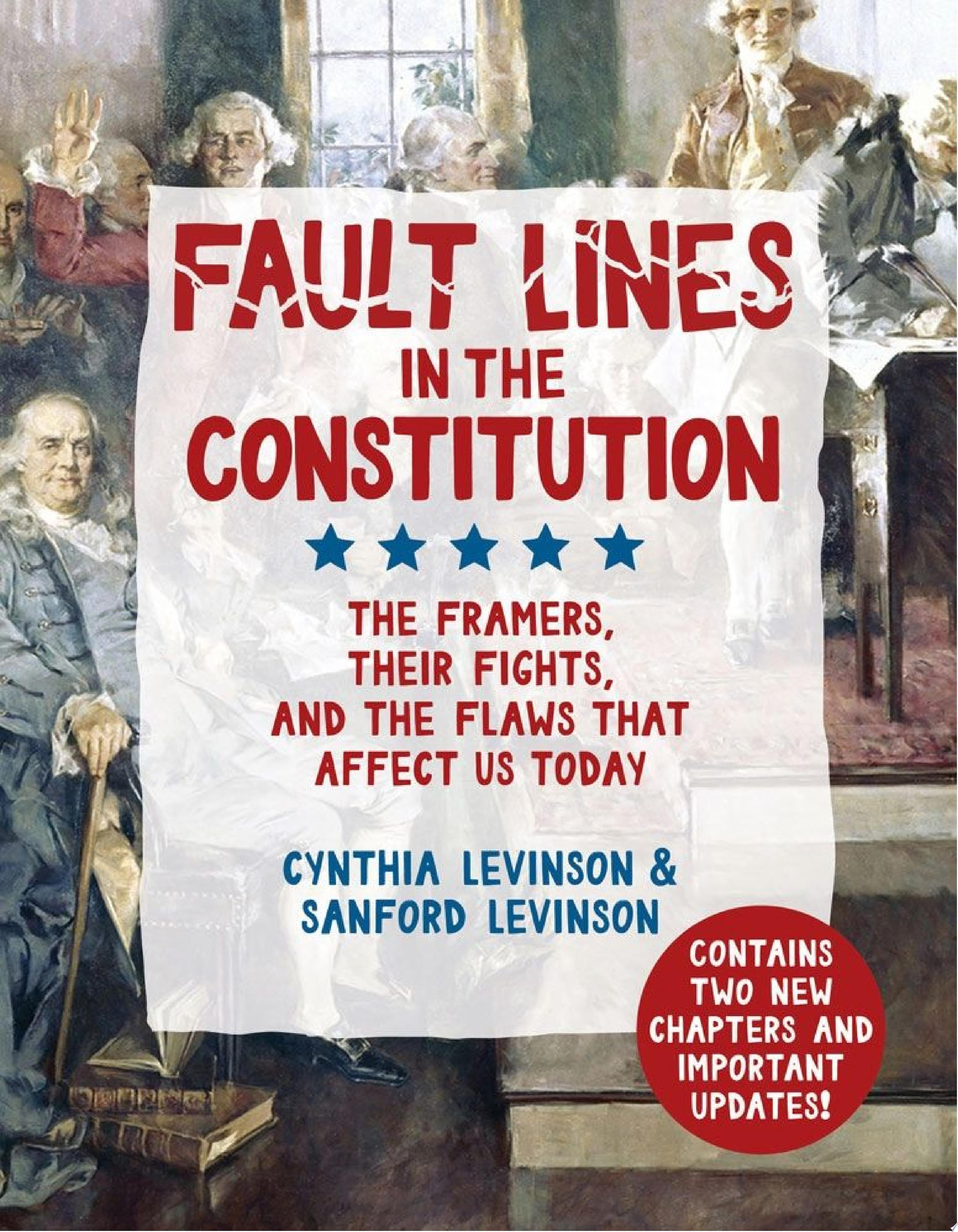"Image for ""Fault Lines in the Constitution"""