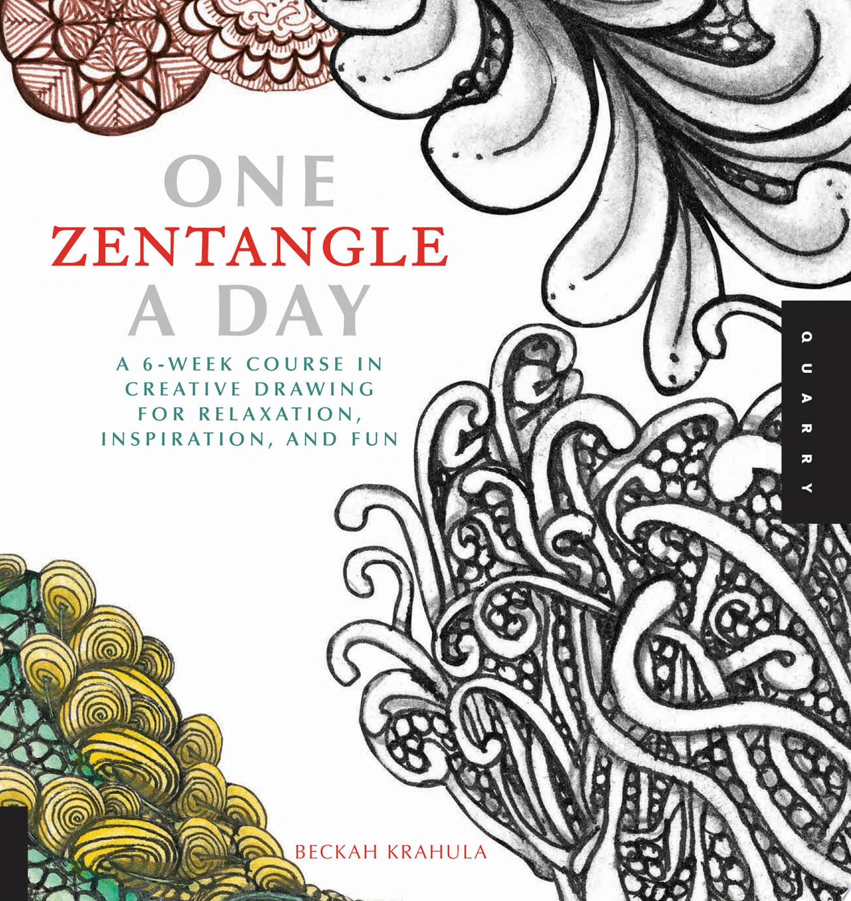 "Image for ""One Zentangle A Day"""