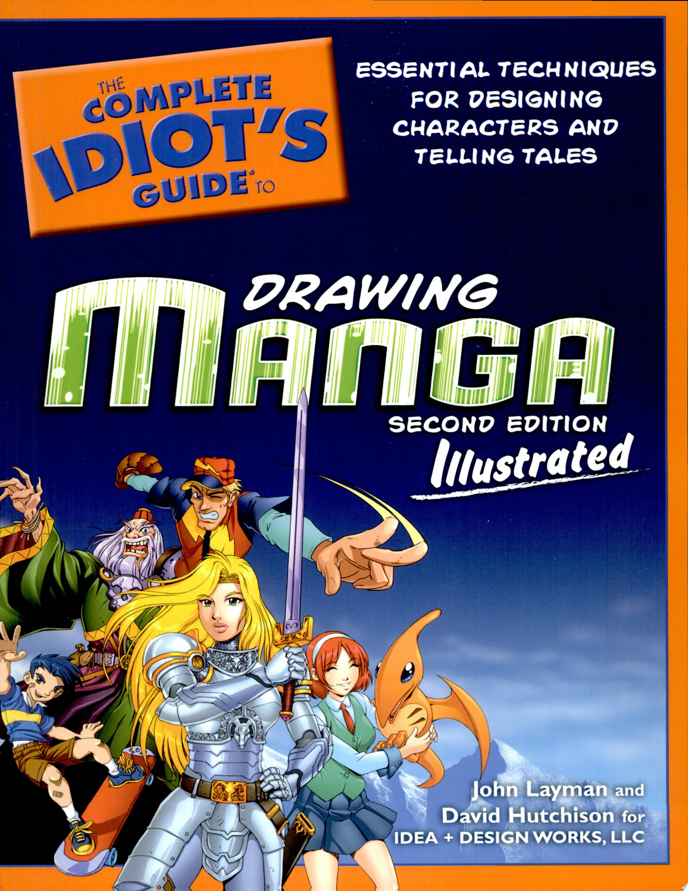"Image for ""The Complete Idiot's Guide to Drawing Manga Shoujo Illustrated"""