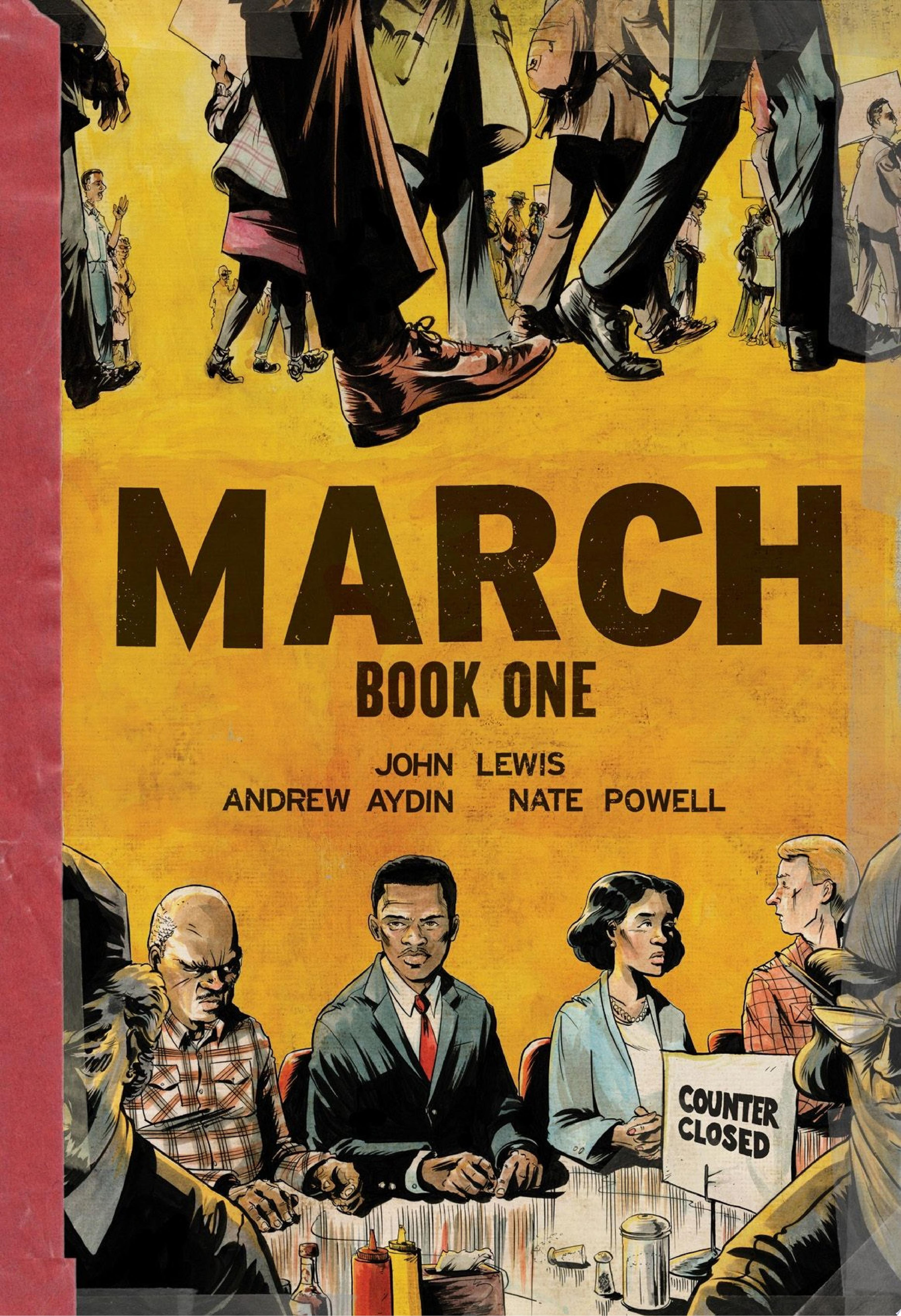 "Cover Image for ""March: Book One"""