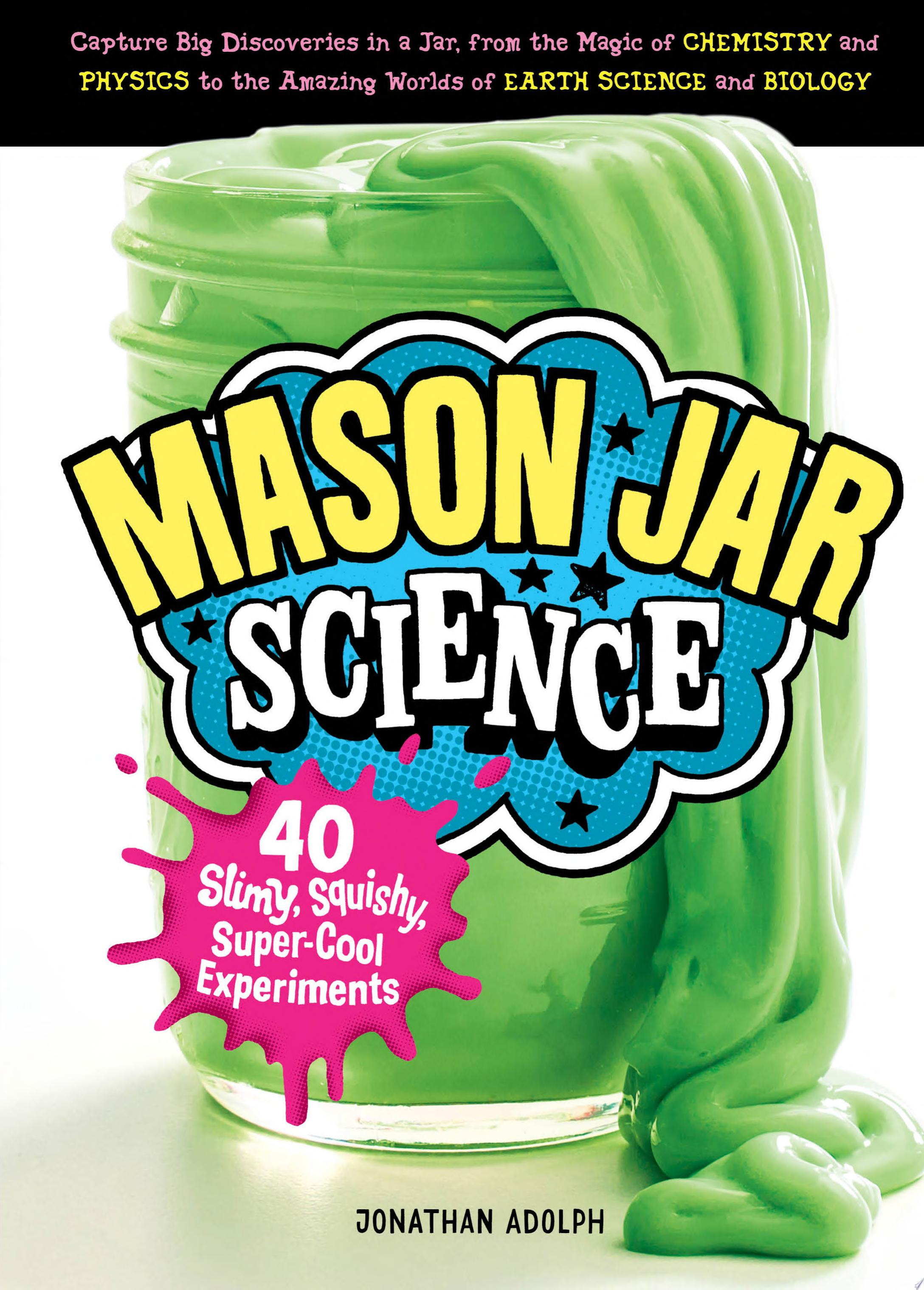 "Image for ""Mason Jar Science"""