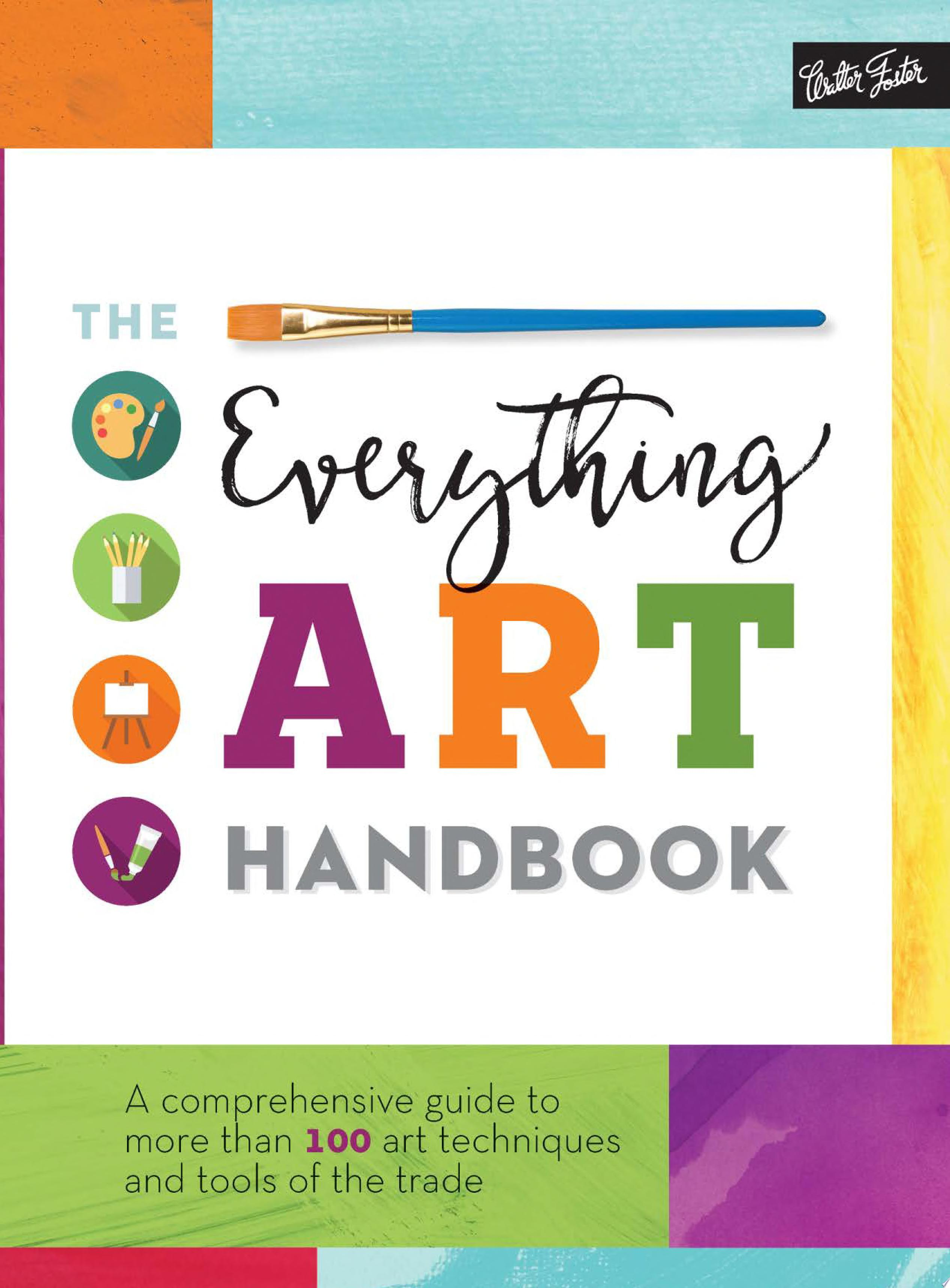 "Image for ""The Everything Art Handbook"""
