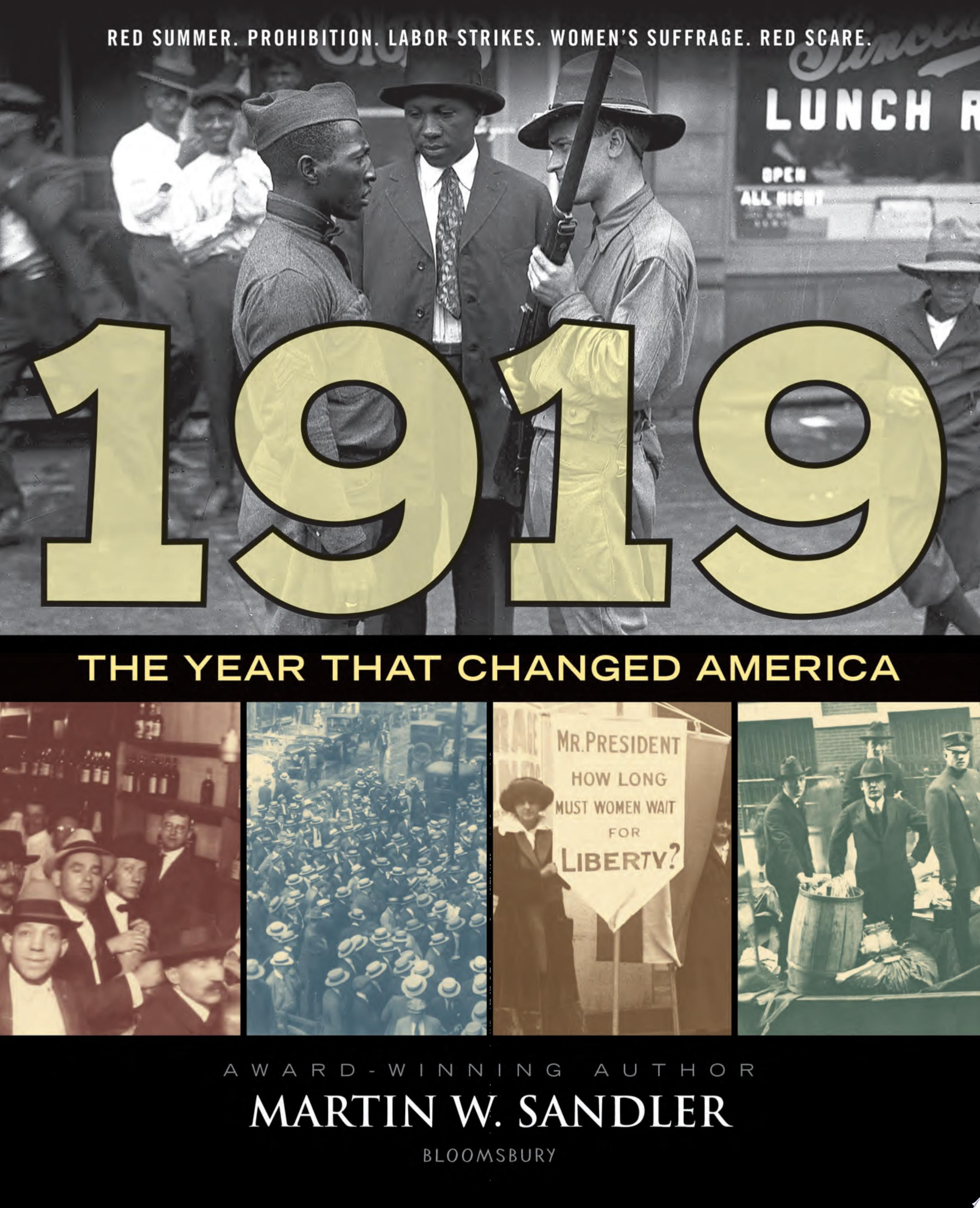 "Cover Image for ""1919 The Year That Changed America"""