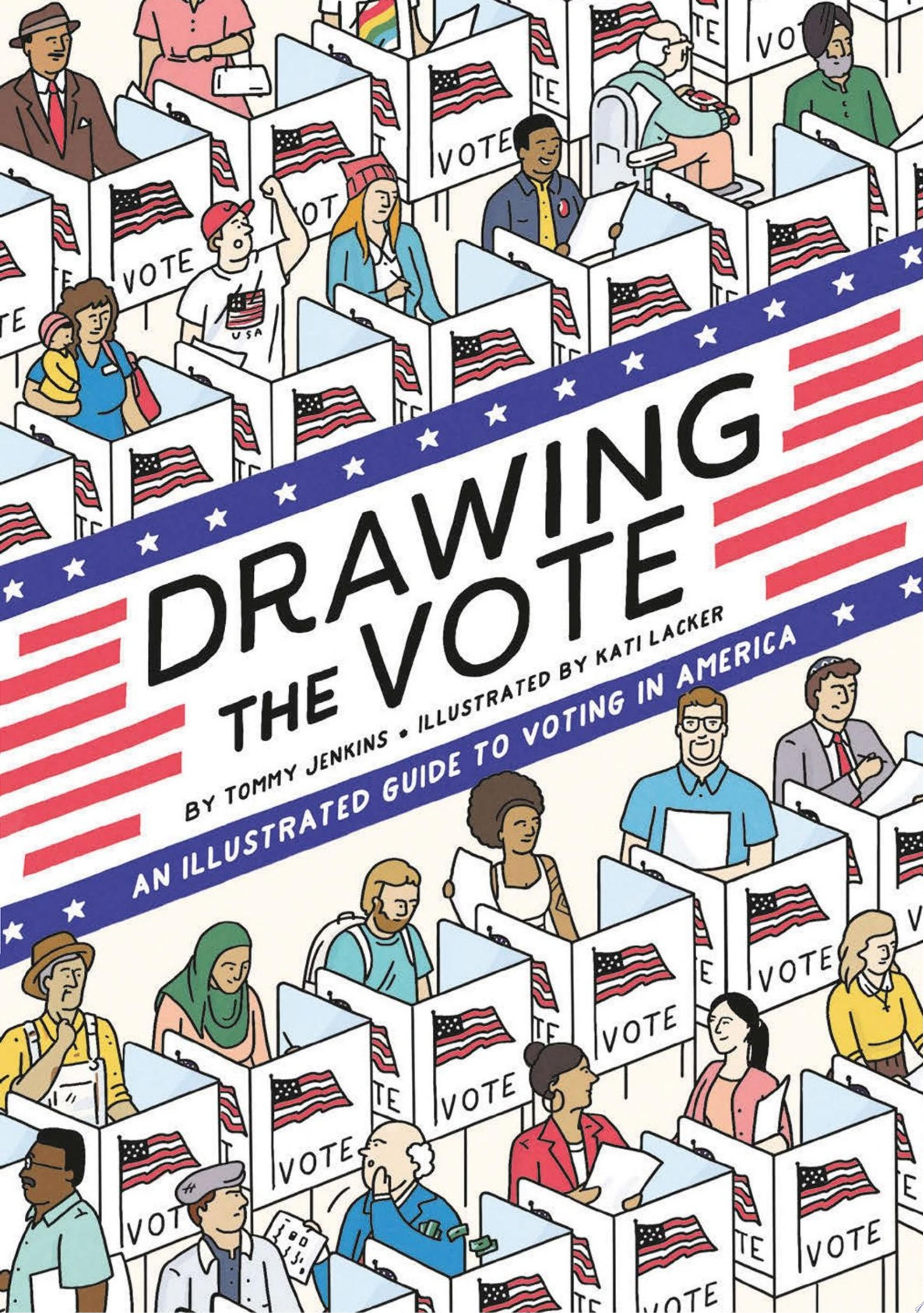 "Cover Image for ""Drawing the Vote"""