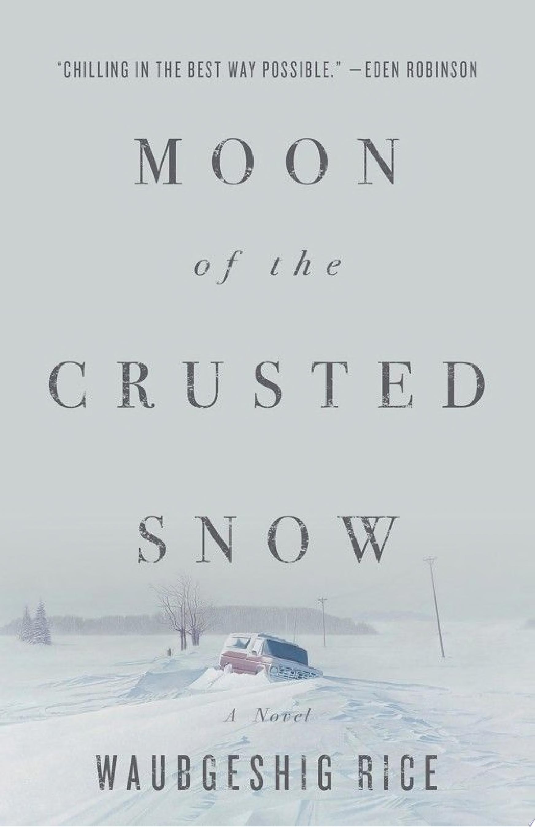 "Cover Image for ""Moon of the Crusted Snow"""
