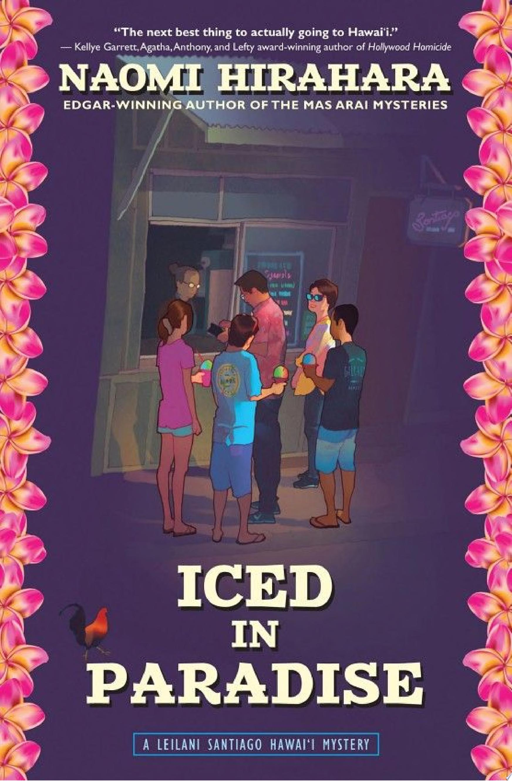 "Cover Image for ""Iced in Paradise"""
