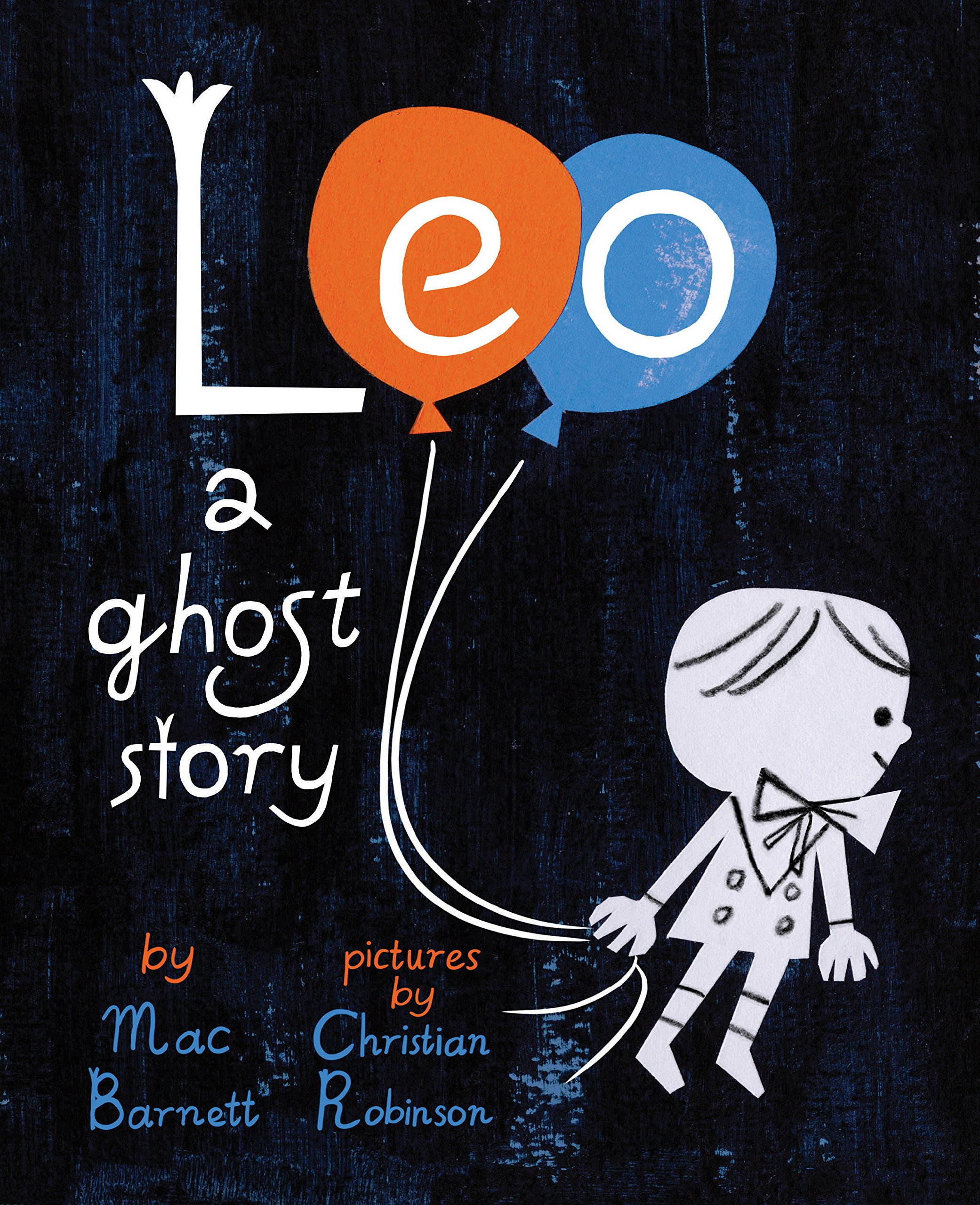 """Leo a Ghost Story"" cover"