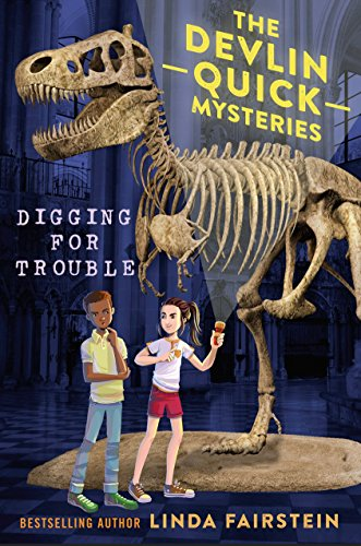 "Image for the book ""Digging for Trouble"" by Linda Fairstein"