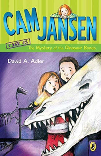 "Image for the book ""Mystery of the Dinosaur Bones"" by David A. Adler"