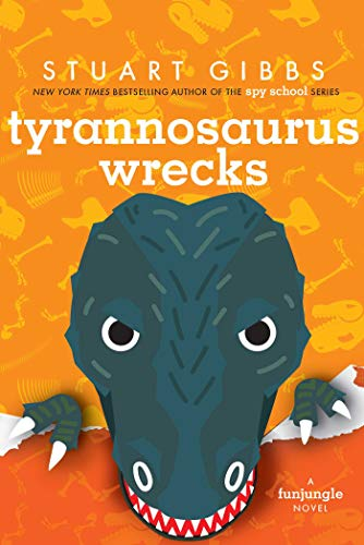 "Image for the book ""Tyrannosaurus Wrecks"" by Stuart Gibbs"