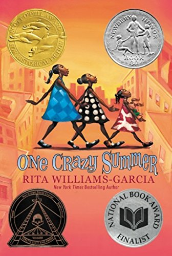 "Image for the book ""One Crazy Summer"" by Rita Williams-Garcia"