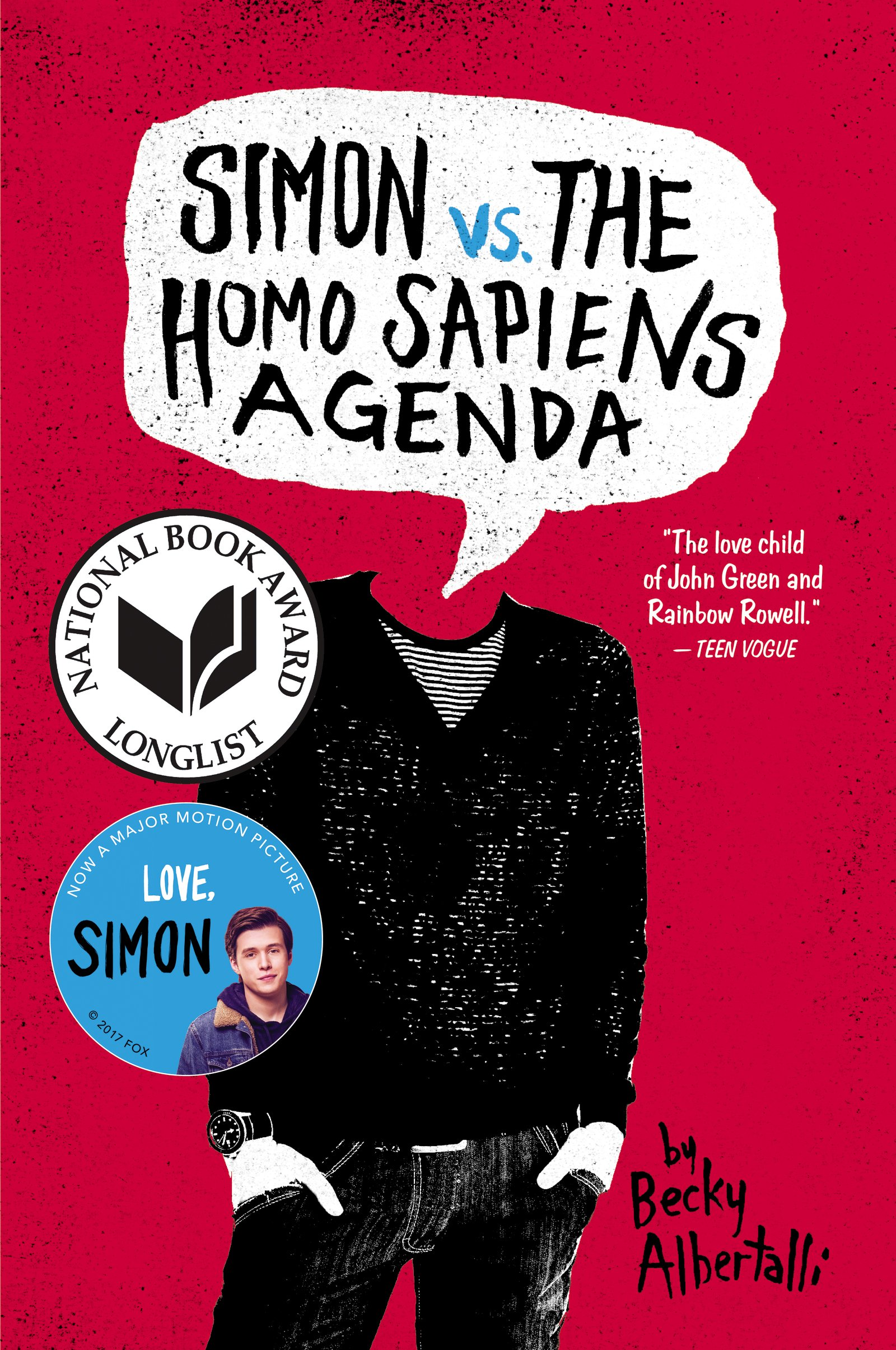 "Image for ""Simon vs. the Homo Sapiens Agenda"""