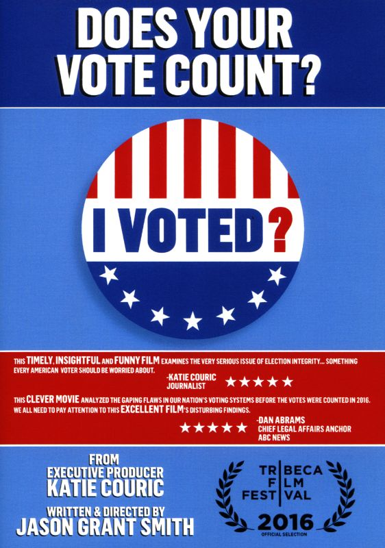 "Image for ""I Voted? : Does Your Vote Count?"""