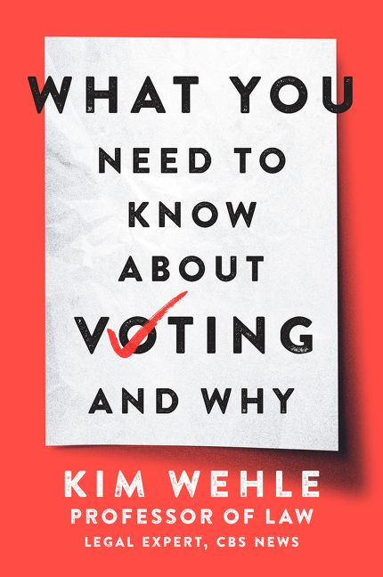 "Image for ""What You Need to Know About Voting--and Why"""