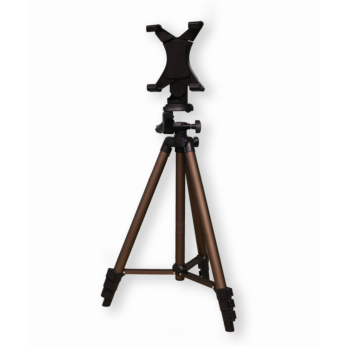Tripod with tablet mount